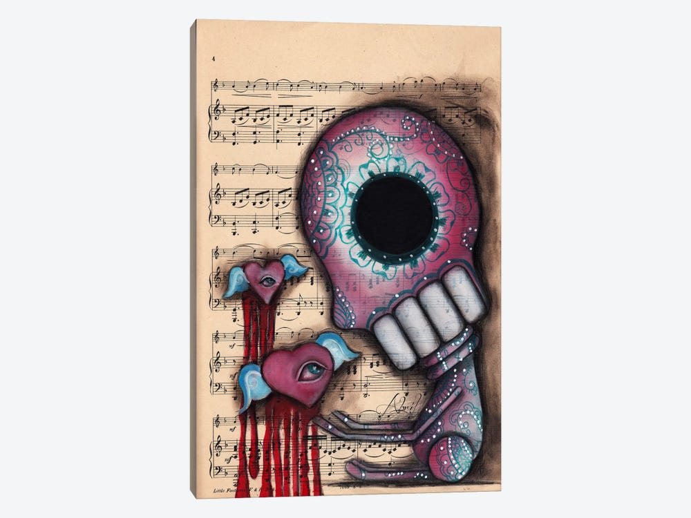 Melting Hearts by Abril Andrade 1-piece Canvas Art