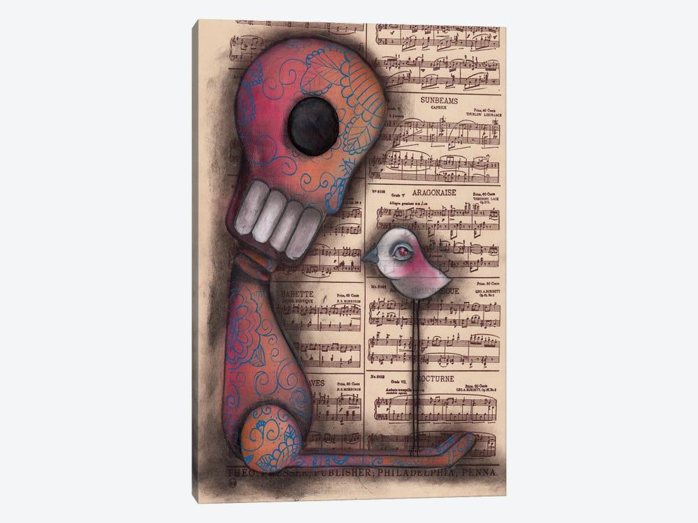 Not Really Alone by Abril Andrade 1-piece Canvas Artwork