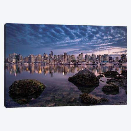 A Glowing Pearl Canvas Print #AAG4} by Andreas Agazzi Canvas Print