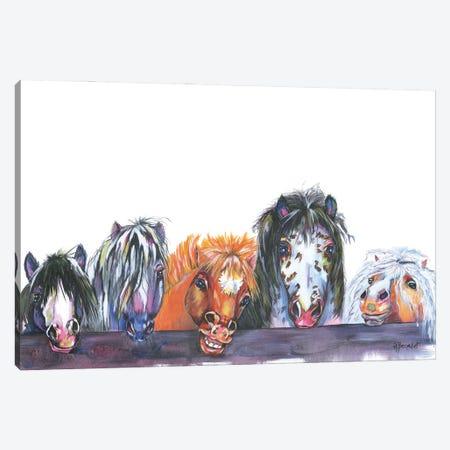 All My Rowdy Friends Canvas Print #AAH14} by A & A Arthappy Canvas Art