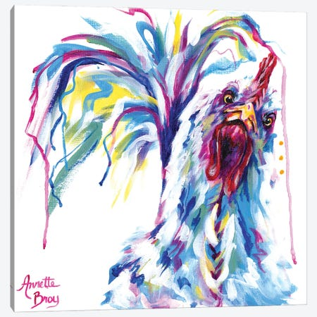 Lil Pecker Canvas Print #AAH6} by A & A Arthappy Canvas Wall Art