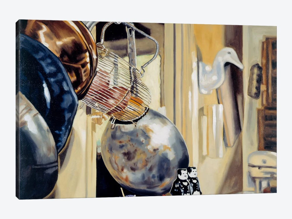 Kitchen Goose by Andrea Alvin 1-piece Canvas Art Print
