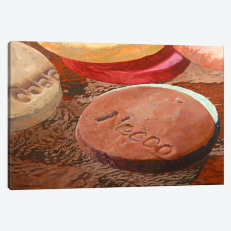 Candy Wafers II Canvas Print #AAL14} by Andrea Alvin Canvas Artwork