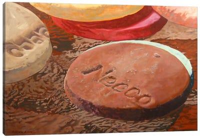 Candy Wafers II Canvas Art Print