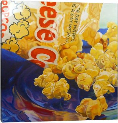 Popcorn Man Canvas Art Print