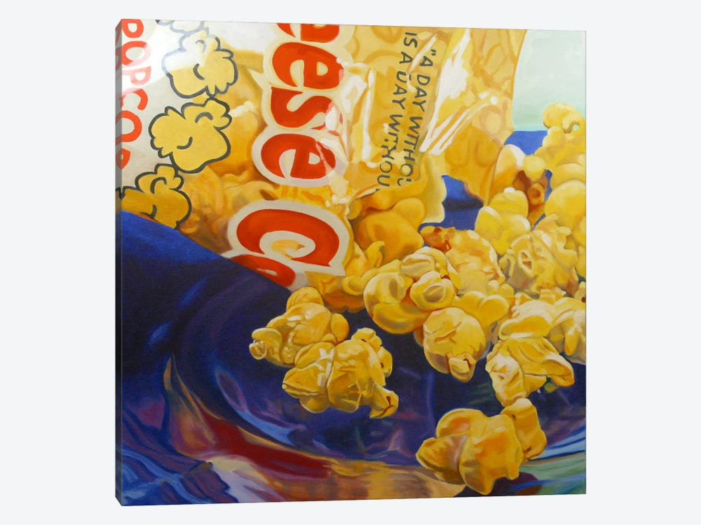 Popcorn Man by Andrea Alvin 1-piece Canvas Art