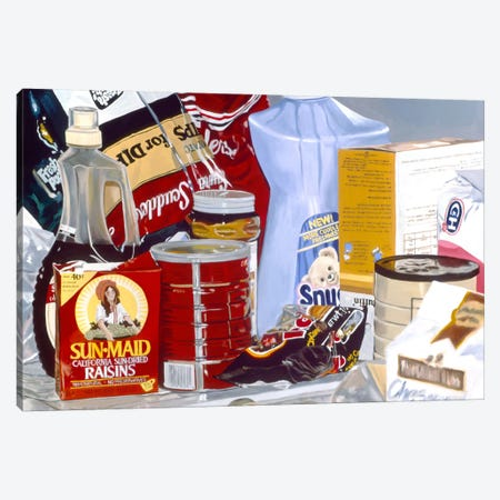 Raisins From Fresno Canvas Print #AAL20} by Andrea Alvin Canvas Art