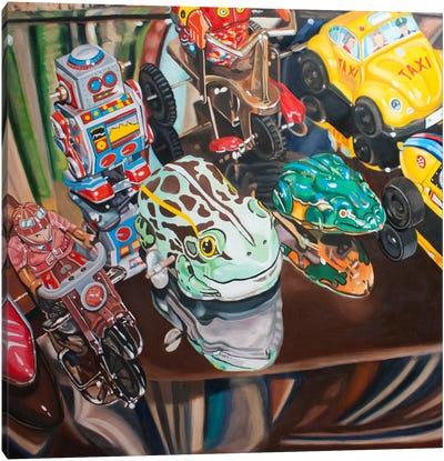 Ready, Set, Go! Canvas Art Print