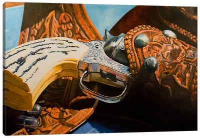 Good-Guy's 6-Shooter Canvas Art Print