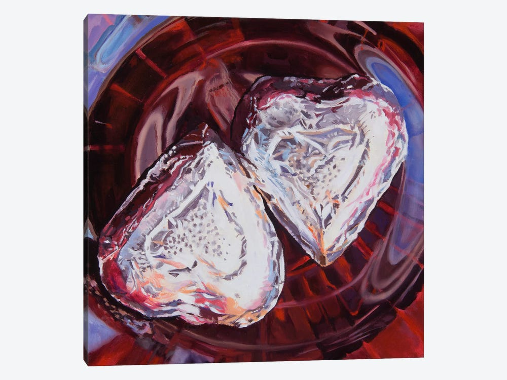 Sweethearts by Andrea Alvin 1-piece Canvas Art