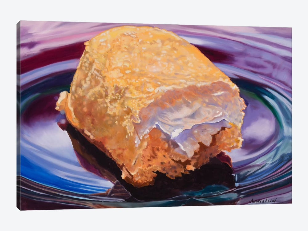 Finger Food by Andrea Alvin 1-piece Canvas Wall Art