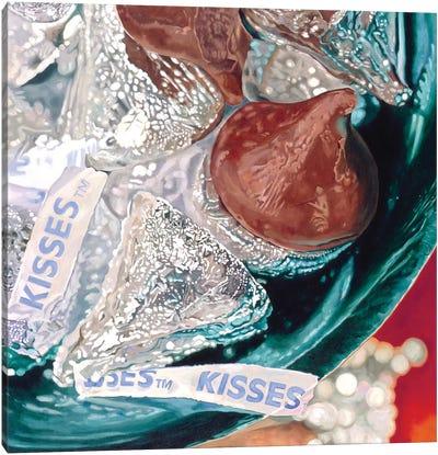 Big Kisses Canvas Art Print