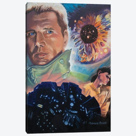 Blade Runner Canvas Print #AAL33} by Andrea Alvin Art Print