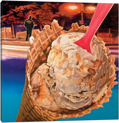 Ice Cream Canvas Art Print