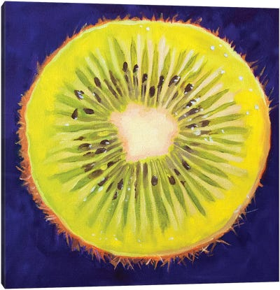 Kiwi Canvas Art Print