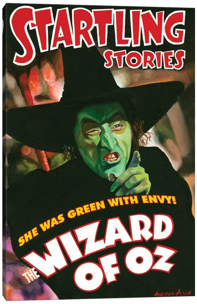 Wicked Witch Canvas Art Print