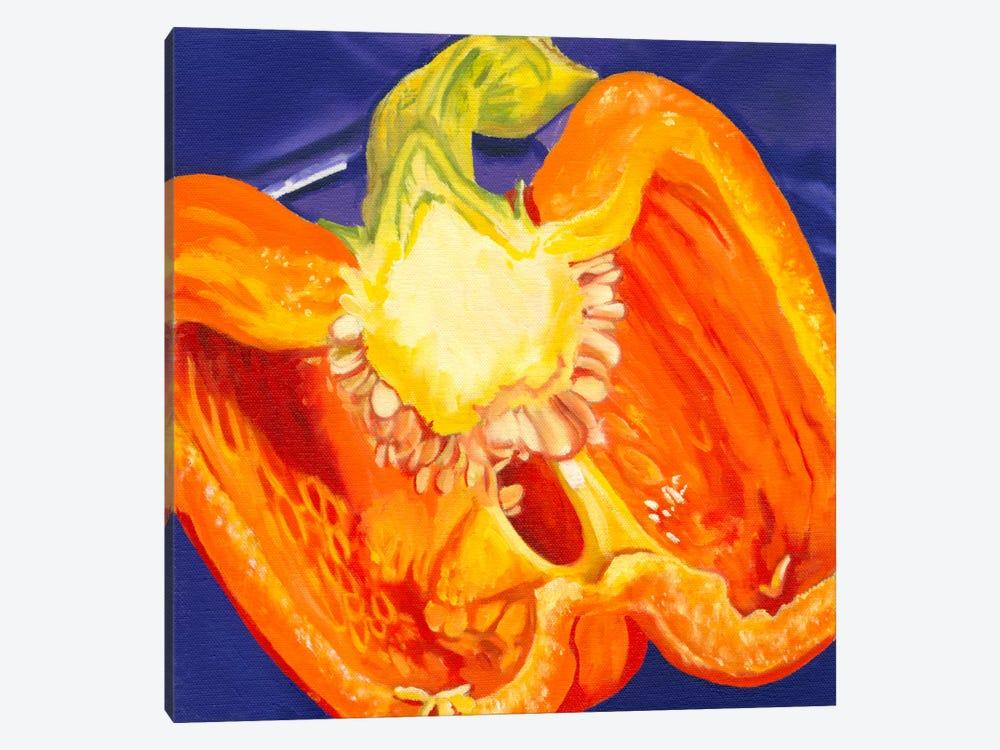Cut Pepper by Andrea Alvin 1-piece Canvas Artwork