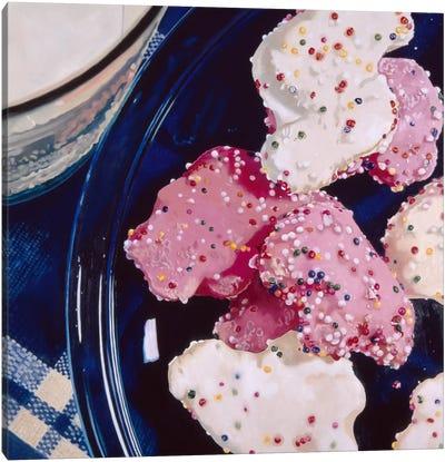 Iced Animal Cookies Canvas Art Print
