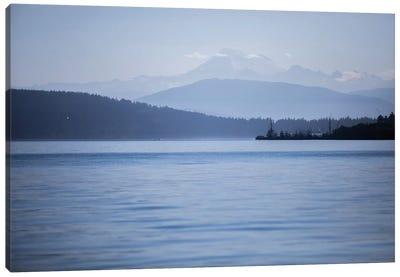 Blue Serenity Canvas Art Print