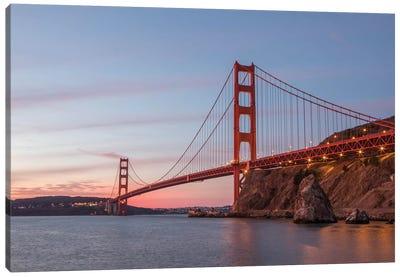 Golden Gate Span Canvas Art Print