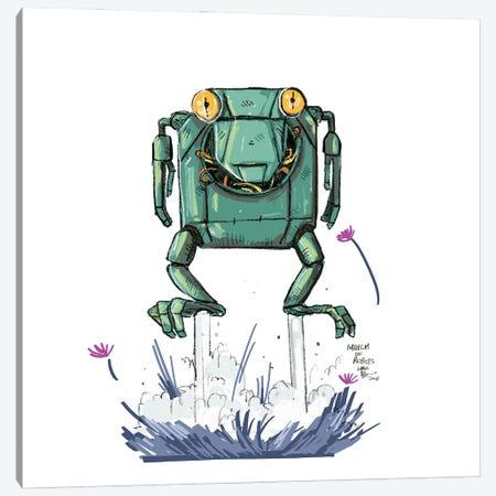 Robot VI Canvas Print #AAN15} by Annada N. Menon Canvas Wall Art