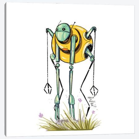 Robot IX Canvas Print #AAN18} by Annada N. Menon Canvas Print