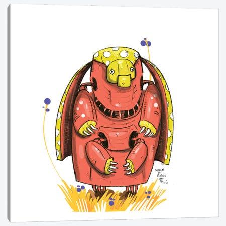 Robot XII Canvas Print #AAN21} by Annada N. Menon Canvas Wall Art