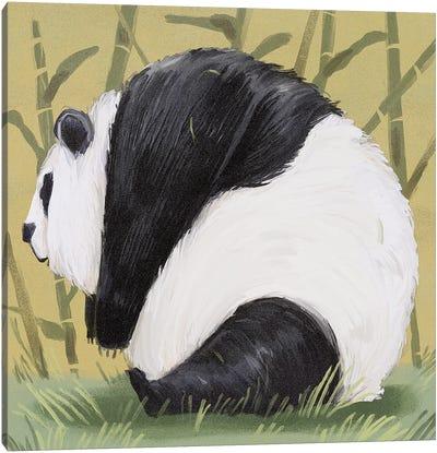 Pandas Are Already Chonky Canvas Art Print