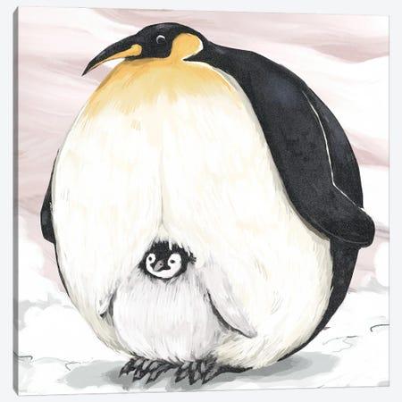 Chonky Penguin Canvas Print #AAN39} by Annada N. Menon Canvas Art Print