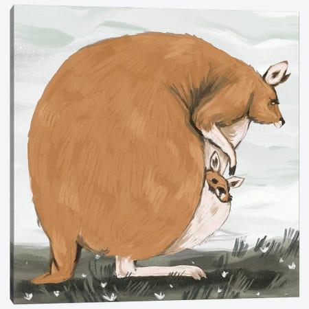 Chonky Kangaroo Canvas Print #AAN41} by Annada N. Menon Canvas Artwork