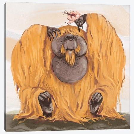 Chonky Orangutan Canvas Print #AAN44} by Annada N. Menon Canvas Print