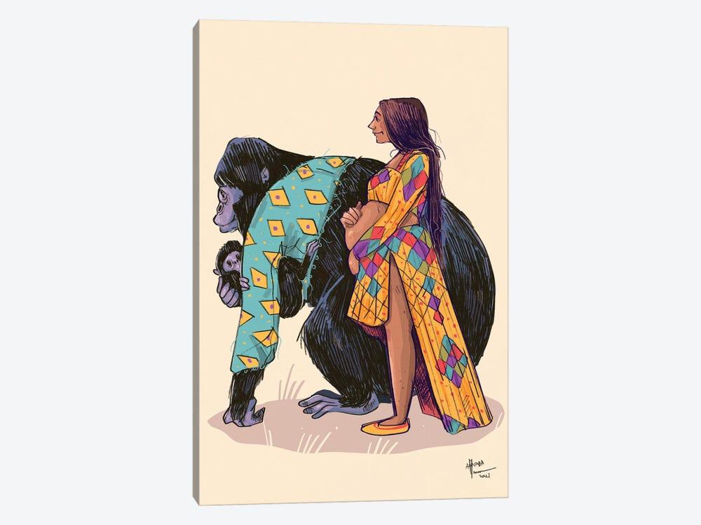Mammas Are Lovely by Annada N. Menon 1-piece Canvas Art Print