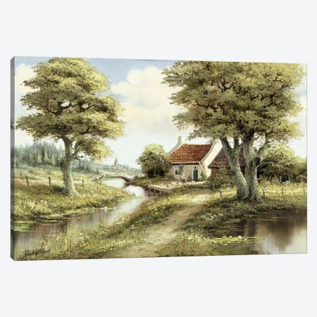 Dutch Country Scene III Canvas Print #AAR3} by Reint Withaar Canvas Artwork
