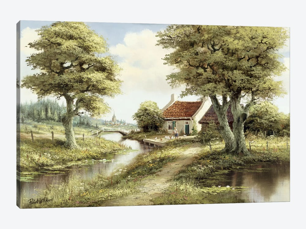 Dutch Country Scene III by Reint Withaar 1-piece Art Print