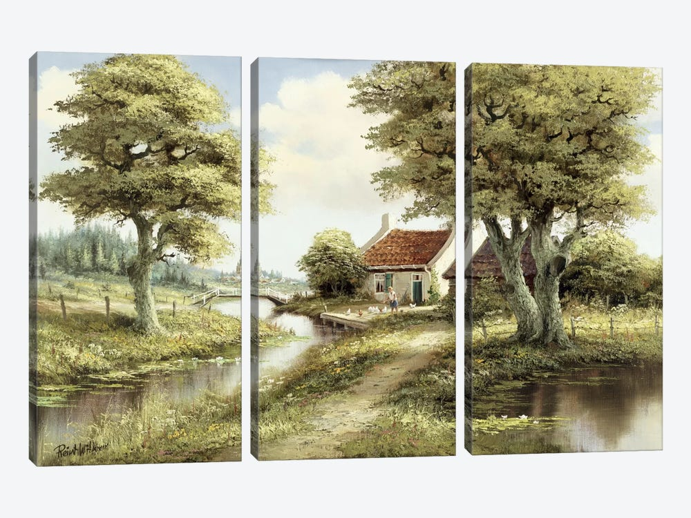 Dutch Country Scene III by Reint Withaar 3-piece Art Print