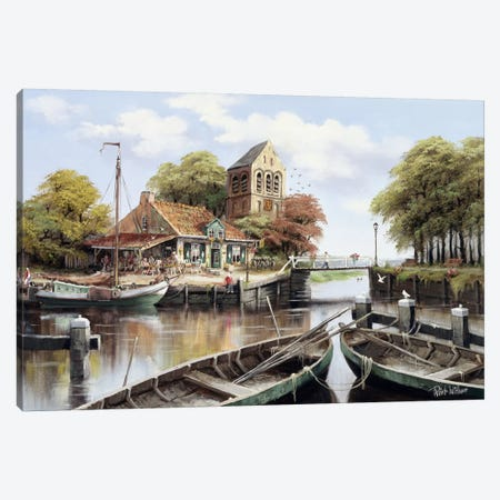 Dutch Waterhouse Canvas Print #AAR4} by Reint Withaar Canvas Print