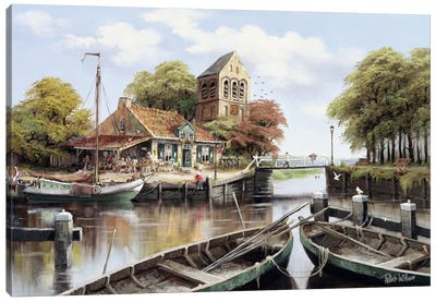 Dutch Waterhouse Canvas Art Print