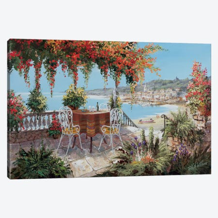 Makes My Day Perfect Canvas Print #AAR6} by Reint Withaar Canvas Art Print