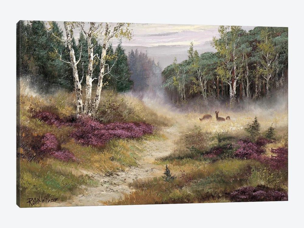 Watching The Deer by Reint Withaar 1-piece Canvas Art