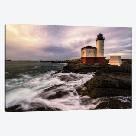 Lighthouse Canvas Print #AAS10} by Andy Amos Canvas Wall Art