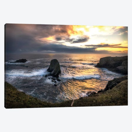 Pacific Cove Canvas Print #AAS11} by Andy Amos Canvas Artwork