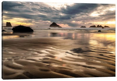 Pacific Low Tide Canvas Art Print