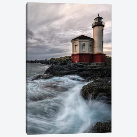 Lighthouse Panel Canvas Print #AAS29} by Andy Amos Canvas Print