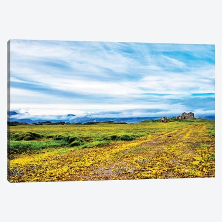 Abandoned Farm Canvas Print #AAS2} by Andy Amos Canvas Art Print