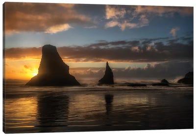 Island Sunsets Canvas Art Print