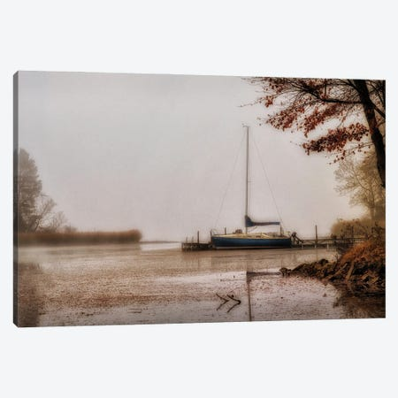 Days on the Lake Canvas Print #AAS38} by Andy Amos Canvas Art