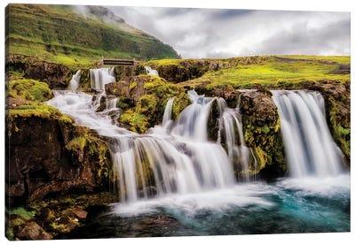 Beneath the Falls Canvas Art Print