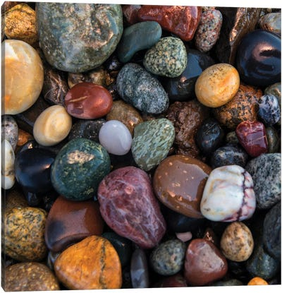 Ocean Rocks I Canvas Art Print