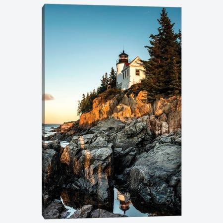 Harbor Lighthouse Canvas Print #AAS62} by Andy Amos Canvas Art Print