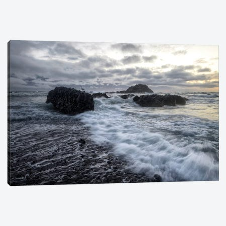 High Tide Canvas Print #AAS8} by Andy Amos Canvas Print